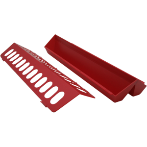 Plastic Flip Top Ground Chicken Hole Feeder
