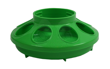 chick feeder / water base 1 quart