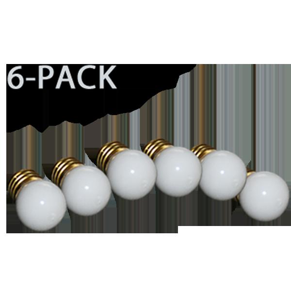 7 Watt Brooder Bulb 6 Pack