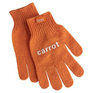 Carrot Cleaning Glove
