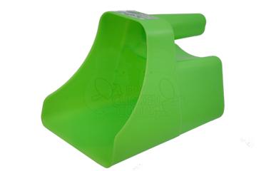 Neon Green Feed Scoop