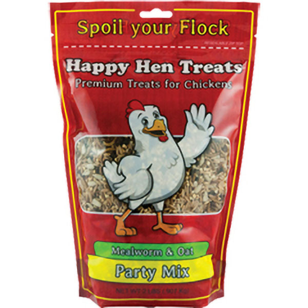 Happy Hen Mealworm and Oat Mix