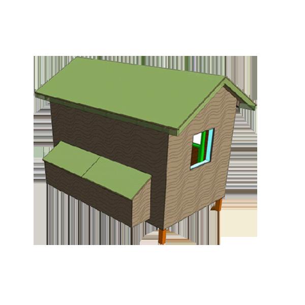 10x6 Chicken Coop Plans