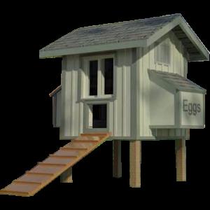 4x4 Chicken Coop Plans