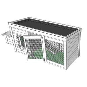 Herb Garden Chicken Coop Plans