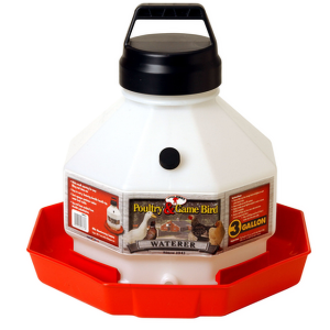 3 Gallon Plastic Waterer