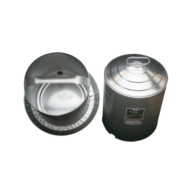 Galvanized Fountain Waterer for Poultry Chickens