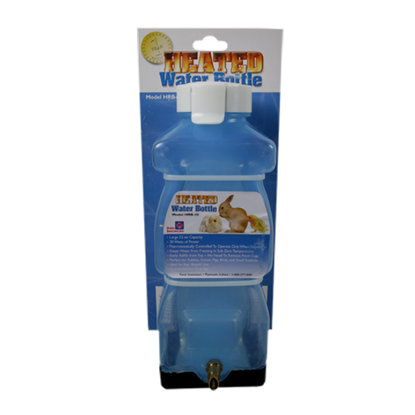 Heated Water Bottle 32oz 20 Watt