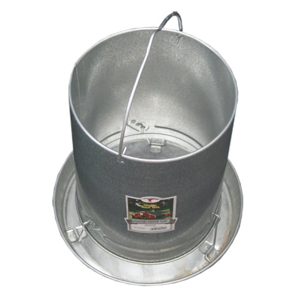 30lb Galvanized Hanging Feeder
